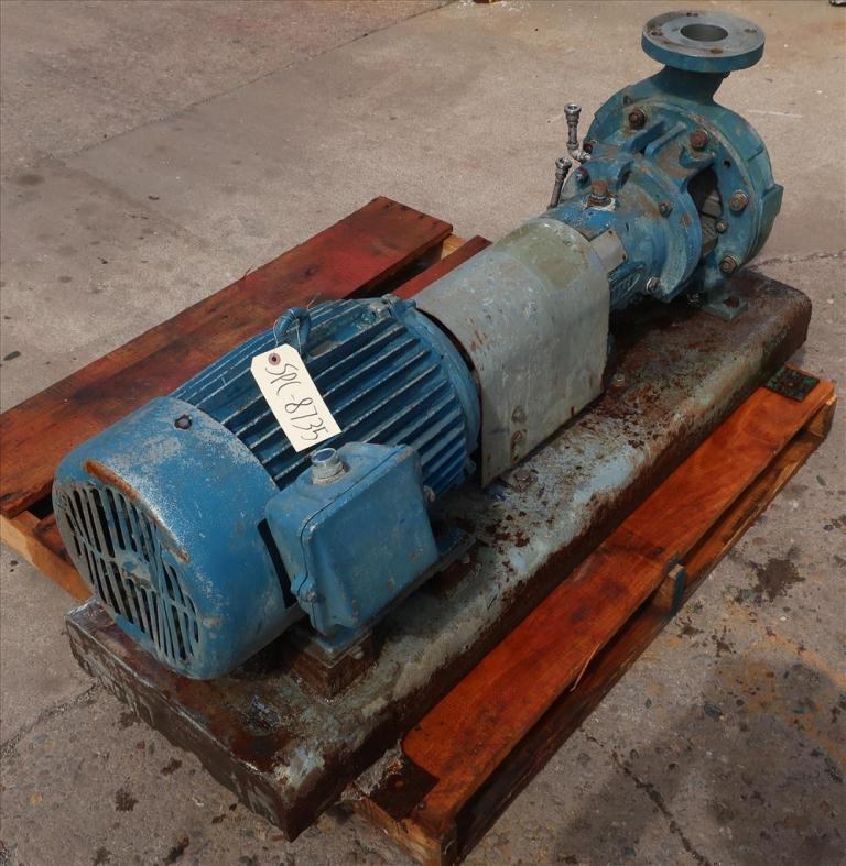Pump 2K4X3M Durco centrifugal pump, 15 hp, Stainless Steel2