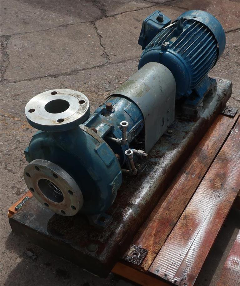 Pump 2K4X3M Durco centrifugal pump, 15 hp, Stainless Steel3