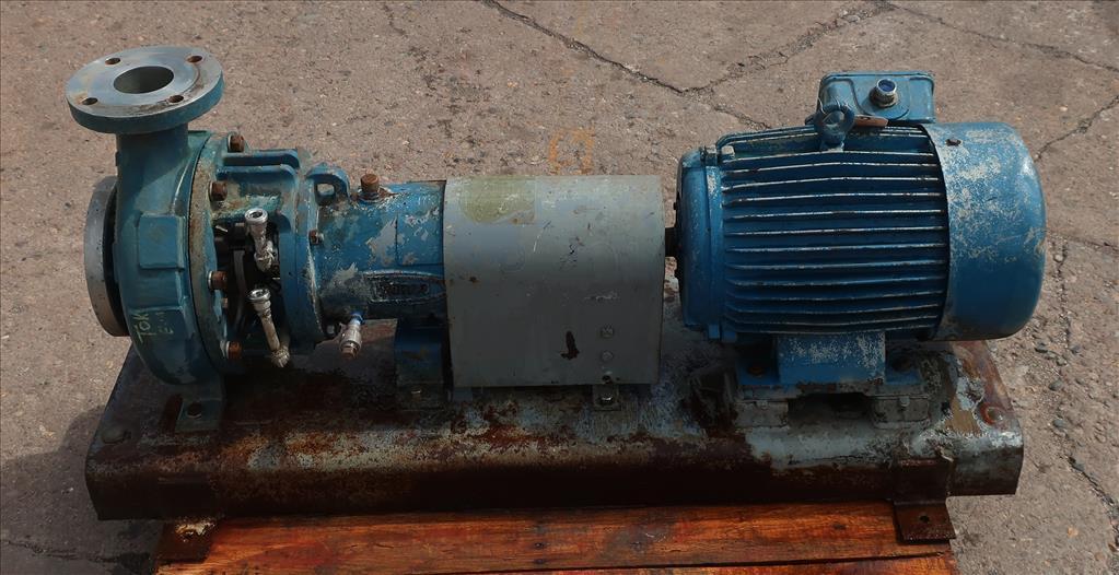 Pump 2K4X3M Durco centrifugal pump, 15 hp, Stainless Steel5