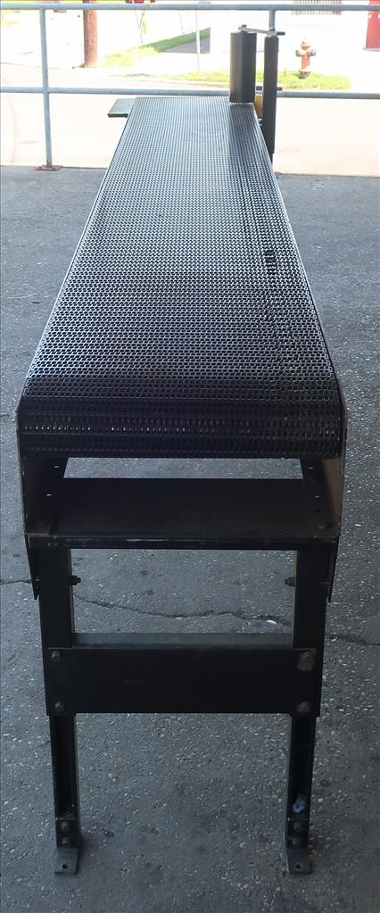 Conveyor Quipp belt conveyor model Mat Top Conv. Bundle Turn, CS, 18 x 1304
