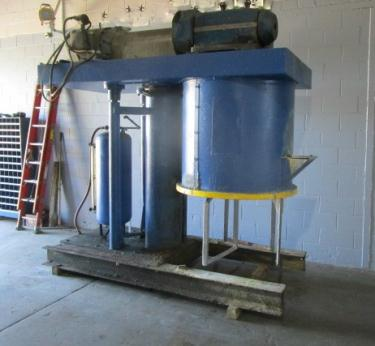 150 gallon Ross model HDM150 double planetary mixer