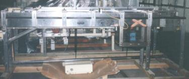 Conveyor Shuttleworth roller conveyor model PE1117, Stainless Steel, 9 w x 136 l
