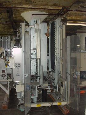 Case Packer Paxall wrap-around case packer model PM-3, up to 17 cpm