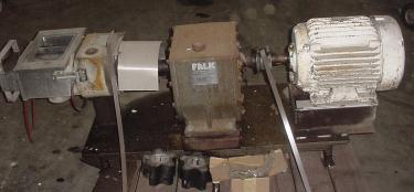 Pump APV positive displacement pump model R700RI, 20 hp, 316 SS