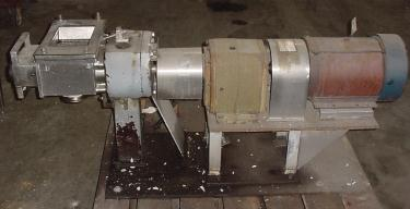 Pump APV positive displacement pump model 700, 10 hp, 316 SS