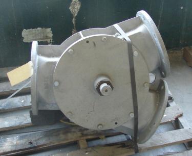 Valve 8 Aluminum, Semco pneumatic diverter valve, model APDC - 80