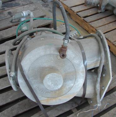 Valve 6 Sprout Waldron pneumatic diverter valve, 6  Aluminum