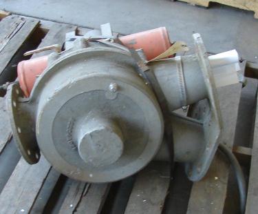 Valve 4 Sprout Waldron pneumatic diverter valve, 4 Aluminum