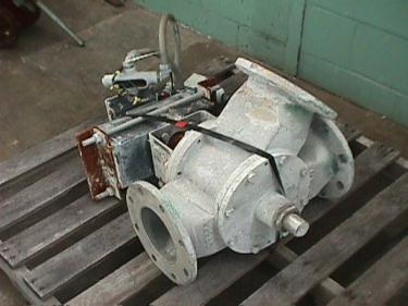 Valve 6 Aluminum Semco pneumatic diverter valve, model 6