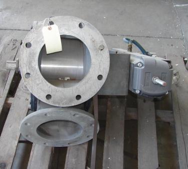 Valve 8 HHC pneumatic diverter valve, 8 Aluminum