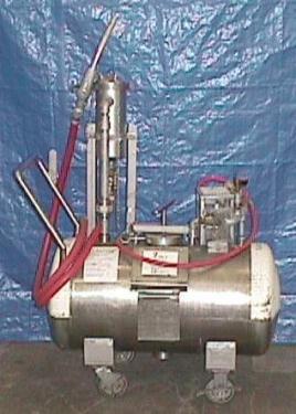 Tank 30 gallon horizontal tank, 304 SS, 50 psi @ 100 F internal