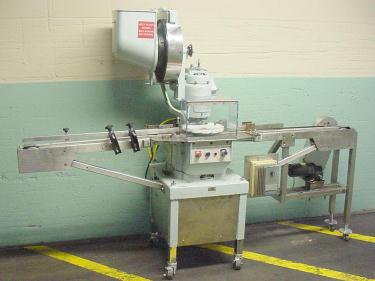 Capping Machine The West Co. Inc vial capper model PW 500 F, 13mm, up to 100 cpm