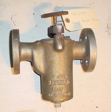Filter 1 Hayward basket strainer (single), 316 SS