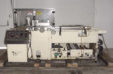 Wrapper Great Lakes automatic shrink wrapping machine model TS-37, speed Up to 70 ppm
