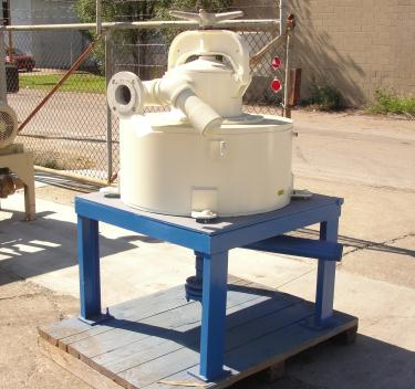 Filtration Equipment Model# 73F2 S.G. Frantz Company electro-magnetic separator, 1300-4000 gph flow capacity