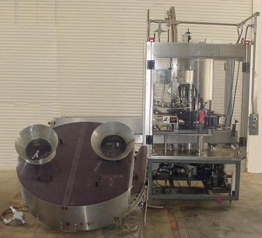 Capping Machine AROL screw capper model Euro.PK.Va, 33 mm plastic caps