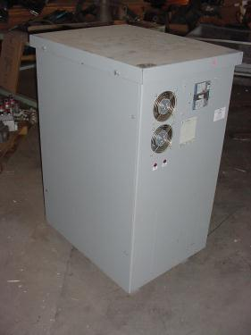 Transformers and Switchgear 25 kva GE dry transformer, 480 high voltage, 208Y/120 vac low voltage, 3 phase