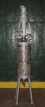 Column and Still 14 gallon Brighton Copper Works pot still 30 psi, Stainless Steel