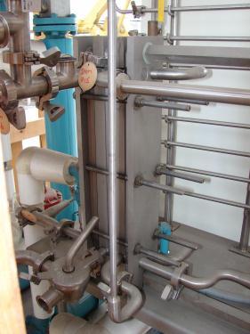 Heat Exchanger 10 sq.ft. APV plate heat exchanger, Stainless Steel