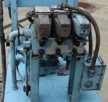 Pump 3 hp Star hydraulic power unit, model Star T30