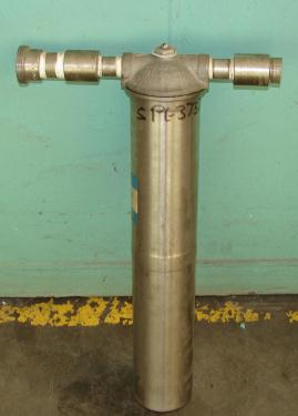 Filtration Equipment 3/4 Commerical Filter Corporation cartridge filter model SSB-20-3/4, Stainless Steel