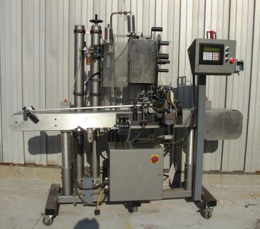 Labeler Label-Aire pressure sensitive labeler model 2111CD, Blow On