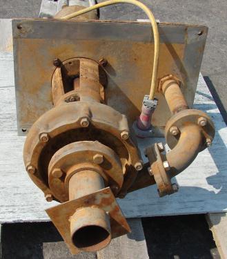 Pump 3x2x8 Crane Deming vertical centrifugal pump model 5562/2M, 5 hp, 316 SS