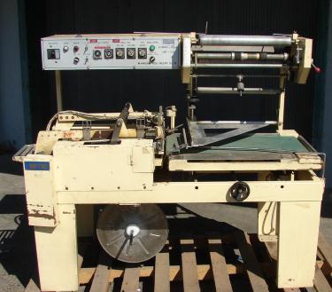 Sealer Hanagata Corporation L bar sealer model HP-10, 19 l x 18 w, 30 ppm