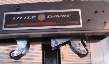 Case Sealer Little David top only case taper model LDU/2