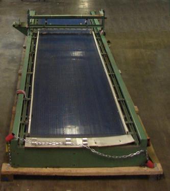 Accumulation Table 48 x 222 Sardee rectangular bi-directional accumulation table model 3500 NA