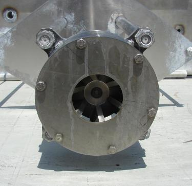 Homogenizer 20/10 hp Greerco batch high shear mixer model 6H79, Stainless Steel