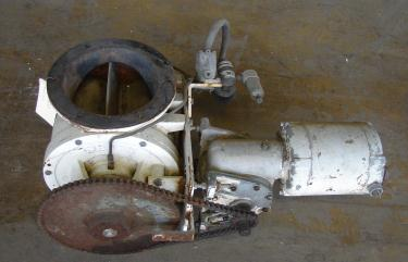 Valve 8 dia. Stainless Steel Shick rotary airlock feeder