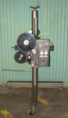 Labeler Label-aire pressure sensitive labeler model 2111, blow-on, 1500fpm