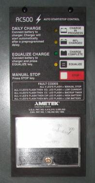 Miscellaneous Equipment battery charger, 48 volts Battery Mate up to 600 amps