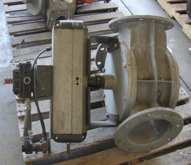 Valve 8 Aluminum, Maco pneumatic diverter valve