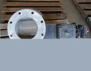 Valve 8 Maco pneumatic diverter valve, Aluminum