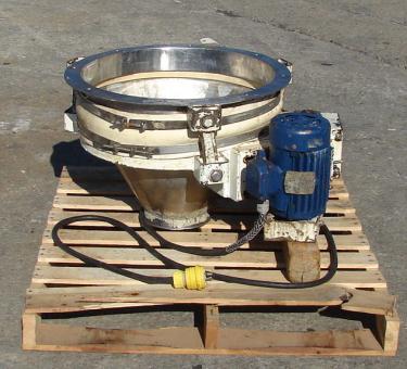 Bin Professional Engineering Associates, live bin bottom, model VH-2, 2 hp, Stainless Steel