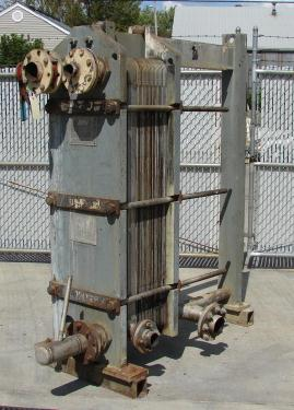 Heat Exchanger 115 sq.ft. APV plate heat exchanger, Stainless Steel