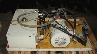 Pump 5 hp Vickers hydraulic power unit, model V20 IPSP 1C11, 15 gallon reservoir tank