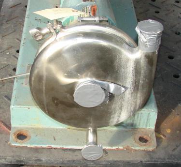 Pump 2x1x8 Tri-Flo Pump centrifugal pump, 15 hp, Stainless Steel