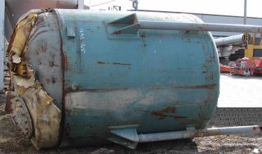 Reactor 1,720 gallon D.E. Co. chemical reactor, 250/ full vac psi internal, 125 psi jacket