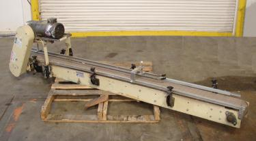 Conveyor New London Engineering table top conveyor CS, 7 wide x 92 long