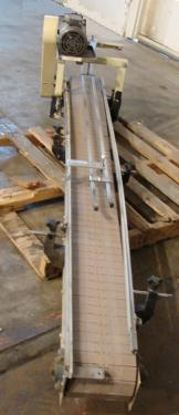 Conveyor 7 wide x 92 long New London Engineering table top conveyor