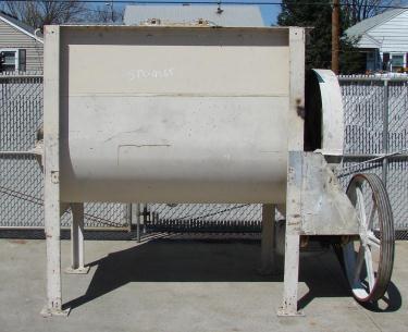 Mixer and Blender 50 cu. ft. capacity paddle blender, 20 hp, CS