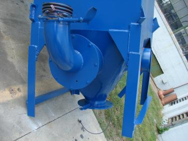 Dust Collector 226 sq.ft. Consolidated Engineering reverse pulse jet dust collector