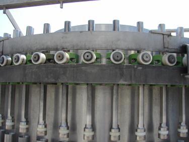 Filler 50 piston Hema piston filler model MR50, up to 1200 cpm