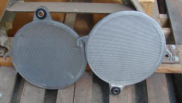 Filtration Equipment 3.75 sq.ft. Ertel plate and frame filter Stainless Steel Contact Parts, .25 cuft capacity