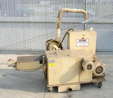 Granulator 5 hp Conair plastic granulator model 720-008-01, 11 x 17 throat, 9 x 10 rotor