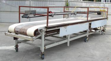 Conveyor table top conveyor 20 w  x 19 l
