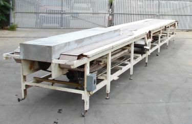 Conveyor table top conveyor 10w x 268 l
